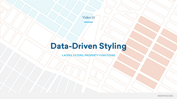 Mapping Urban Data Online Video Course - Data driven mapping